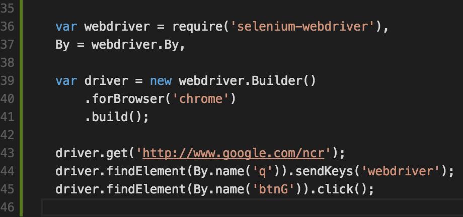 webdriver-code